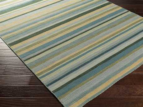 Surya Calvin Rectangular Teal Area Rug