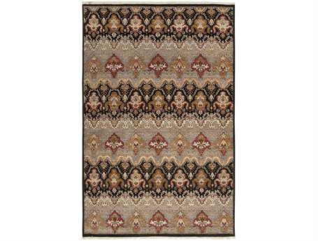 Surya Cambridge Rectangular Gray Area Rug