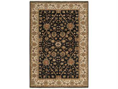 Surya Cambridge Rectangular Black Area Rug