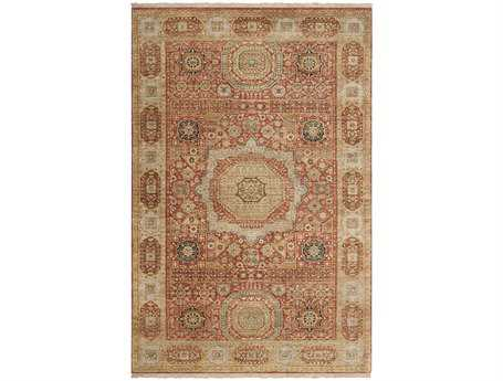 Surya Cambridge Rectangular Red Area Rug