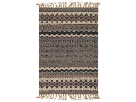 Surya Camel Rectangular Dark Brown, Khaki & Black Area Rug