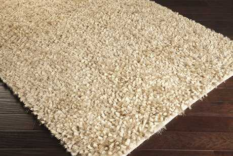 Surya Cumulus Rectangular Cream & Medium Gray Area Rug