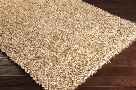 Surya Cumulus Rectangular Cream & Dark Brown Area Rug