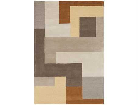 Surya Centennial Rectangular Brown Area Rug