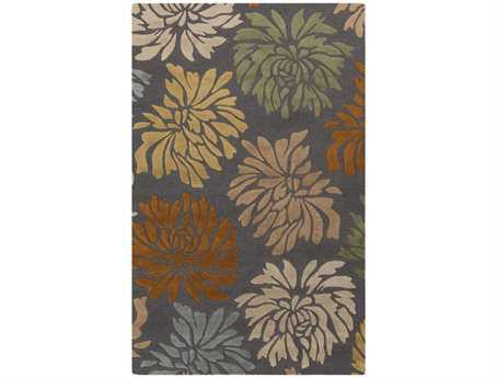Surya Centennial Rectangular Gray Area Rug