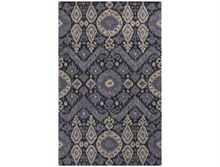 Surya Centennial Rectangular Blue Area Rug