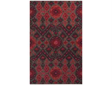 Surya Centennial Rectangular Red Area Rug