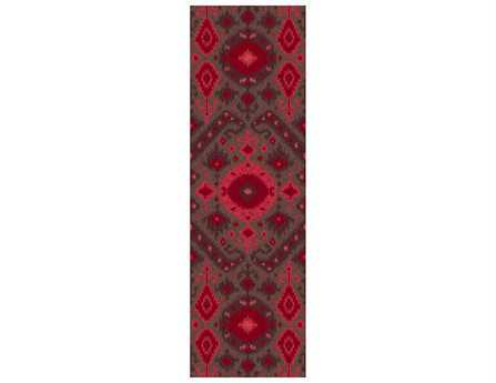 Surya Centennial 2'6'' x 8' Rectangular Red Runner Rug