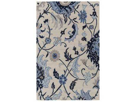 Surya Centennial Rectangular Black, Dark Blue & Khaki Area Rug