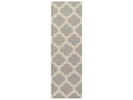 Surya Centennial 2'6'' x 8' Rectangular Medium Gray & Beige Runner Rug