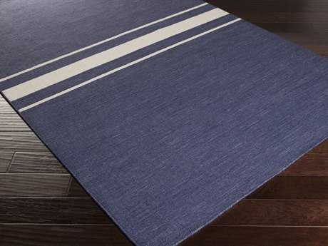 Surya Colton Rectangular Navy Area Rug