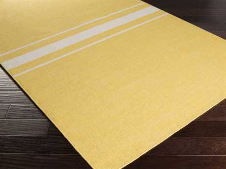 Surya Colton Rectangular Gold Area Rug