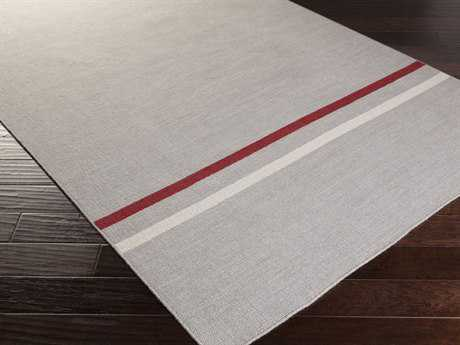 Surya Colton Rectangular Light Gray Area Rug