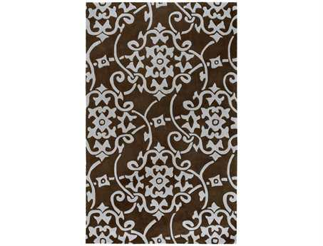 Surya Cosmopolitan Rectangular Brown Area Rug