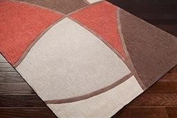 Surya Cosmopolitan Rectangular Brown Area Rug