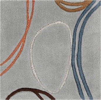 Surya Cosmopolitan Rectangular Gray Area Rug