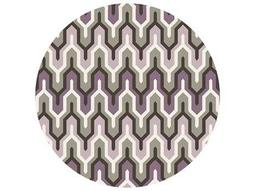 Surya Cosmopolitan 8' Round Purple Area Rug