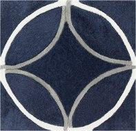 Surya Cosmopolitan 8' Round Blue Area Rug