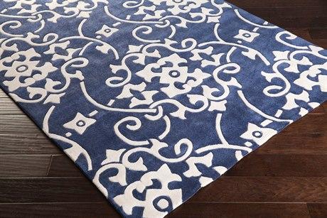 Surya Cosmopolitan Rectangular Blue Area Rug