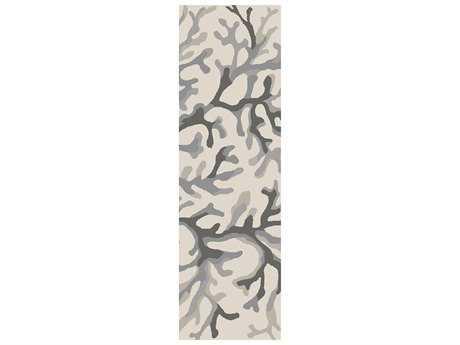 Surya Cosmopolitan 2'6'' x 8' Rectangular Light Gray Runner Rug