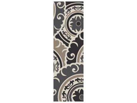Surya Cosmopolitan 2'6'' x 8' Rectangular Taupe & Light Gray Runner Rug