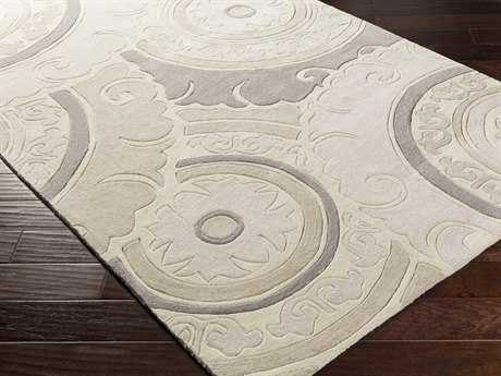 Surya Cosmopolitan Rectangular Ivory Area Rug