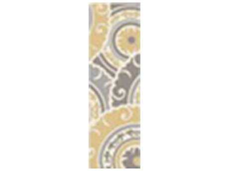Surya Cosmopolitan 2'6'' x 8' Rectangular Gold Runner Rug