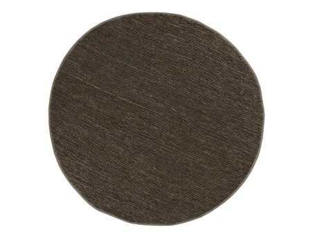 Surya Continental 8' Round Green Area Rug