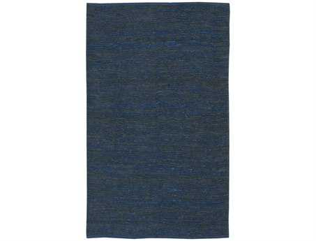 Surya Continental Rectangular Blue Area Rug