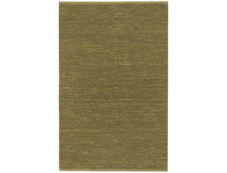 Surya Continental Rectangular Green Area Rug