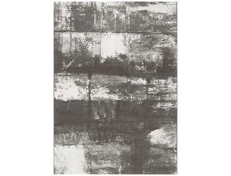 Surya Contempo Rectangular Gray Area Rug