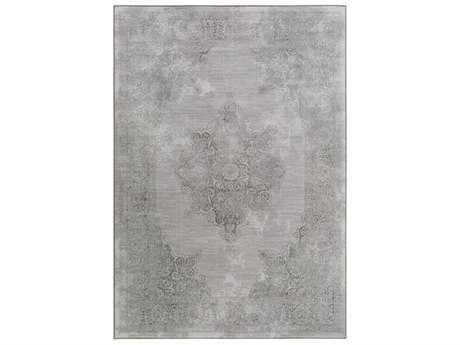 Surya Contempo Rectangular Medium Gray & Light Gray Area Rug