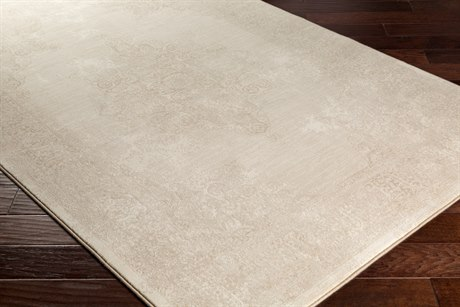 Surya Contempo Rectangular Camel & Cream Area Rug