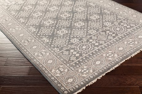 Surya Cappadocia Rectangular Medium Gray, Black & Khaki Area Rug