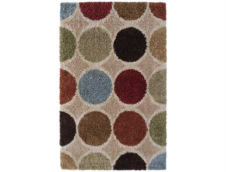 Surya Concepts Rectangular Beige Area Rug