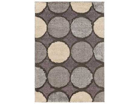 Surya Concepts Rectangular Beige & Gray Area Rug