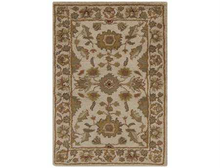 Surya Crowne Rectangular Beige Area Rug