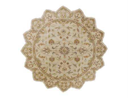 Surya Crowne 8' Star Beige Area Rug