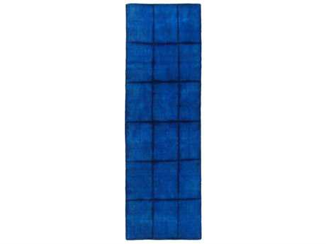 Surya Cruise Rectangular Dark Blue, Denim & Navy Runner Rug