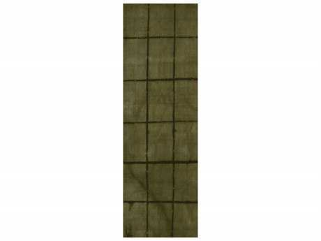 Surya Cruise 2'6'' x 8' Rectangular Olive Runner Rug