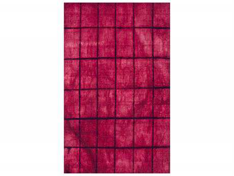 Surya Cruise Rectangular Hot Pink Area Rug