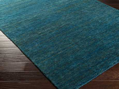 Surya Crusoe Rectangular Teal Area Rug