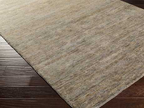 Surya Crusoe Rectangular Gray Area Rug