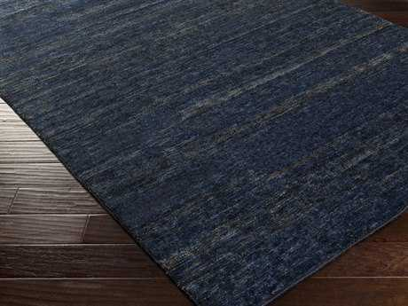 Surya Crusoe Rectangular Navy Area Rug