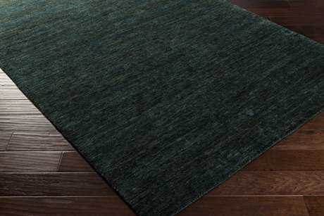 Surya Crusoe Rectangular Dark Green Area Rug