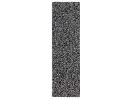 Surya Croix 2'3'' x 8' Rectangular Light Gray Runner Rug