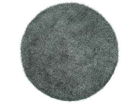Surya Croix Round Sea Foam Area Rug