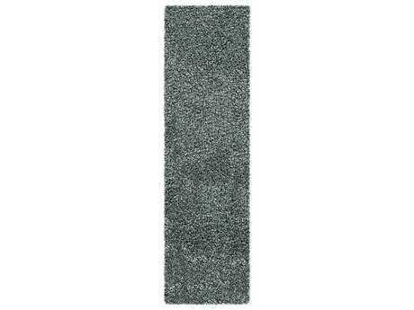 Surya Croix 2'3'' x 8' Rectangular Sea Foam Runner Rug