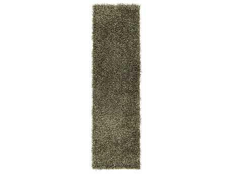 Surya Croix 2'3'' x 8' Rectangular Lime Runner Rug