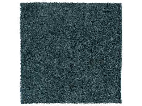 Surya Croix Square Teal Area Rug